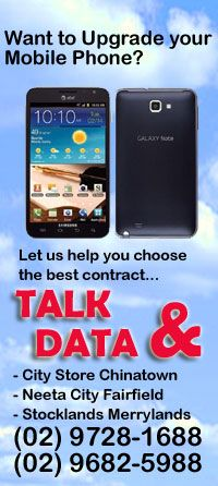 Talk and data, Mobile phones
